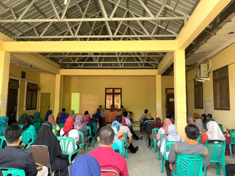 Dinas sosial tebing tinggi - Rapat Evaluasi Verifikasi, Validasi dan Penginput Data Terpadu Kesejahteraan Sosial (DTKS)