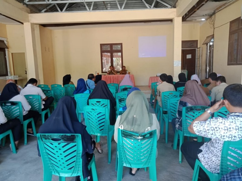 Dinas sosial tebing tinggi - Rapat Koordinasi Bulanan Dinas Sosial Kota Tebing Tinggi bersama Pendamping PKH, Tagana dan TKSK