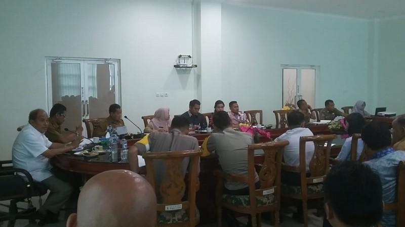 Dinas sosial tebing tinggi - Rapat Pembentukan Sukarelawan Petugas Verifikasi , Validasi serta Penginput data BDT di Kota Tebing Tinggi